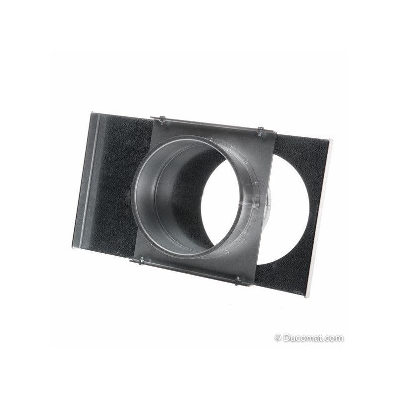 Manual galvanized sliding damper, without sealing - Ø 140 mm