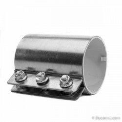 Rohrkupplung Baulange 150 mm, Ø 127 mm, NBR Gummieinlage