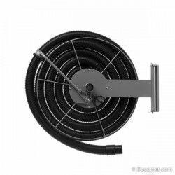 Hose reel, for flex. Ø 50 mm, High Vacuum System