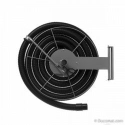 Hose reel, wandmontage, voor Ø 50 mm flexible slang, hoog vacuum