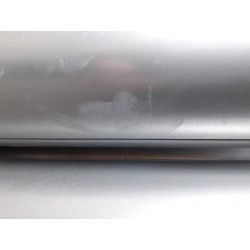 Galva. pipe with spots, Ø 550 mm, 2,0 m. for woodshop dust collection