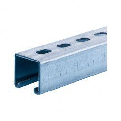 Montagerail 41 x 41 mm, lengte 2.00m