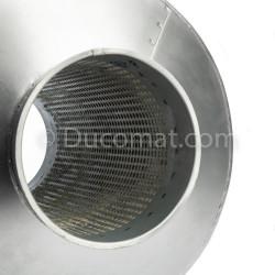 Ø 127 mm, tuyau galva., ép. 1,5 mm, long. 3,0 m., pour NCV
