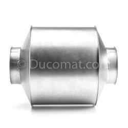 Ø 127 mm, tuyau galva., ép. 1,5 mm, long. 6,0 m., pour NCV