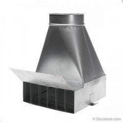 Ø 650 mm  1,0 m.  galva. pipe