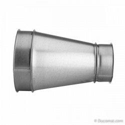 Ø 150 mm - Sattelabzweig 45° - auf Rohr Ø 250 mm
