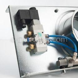 Ø 315 mm  - Silencer L: 0.5 m   fb.