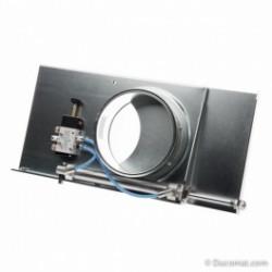 Targette pneumatique étanche (24VAC) + joints - Ø 200 mm