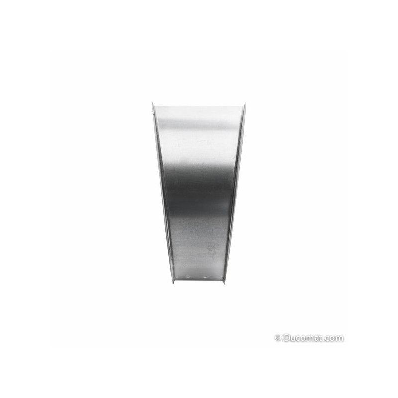 Galva. bend 15° - 1 segment R-1,5D - Ø 300 mm