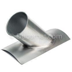 Targette pneumatique étanche (24VAC) + joints - Ø 080 mm
