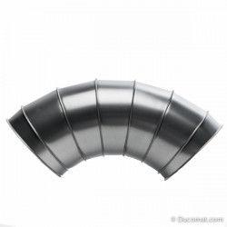 Pneumatische afsluitklep, 230VAC, met dichtingen - Ø 100 mm