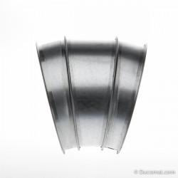Targette pneumatique étanche (48VAC) + joints - Ø 125 mm