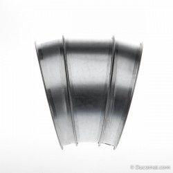 Targette pneumatique étanche (230VAC) + joints - Ø 140 mm