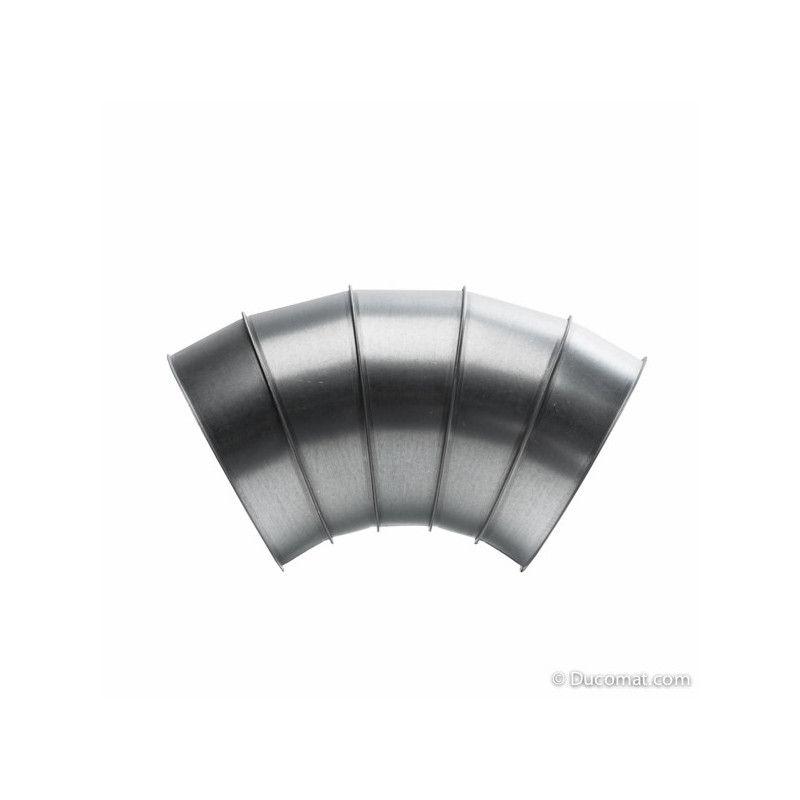 Galva. bend 60° - 5 segments R-1,5D - Ø 400 mm