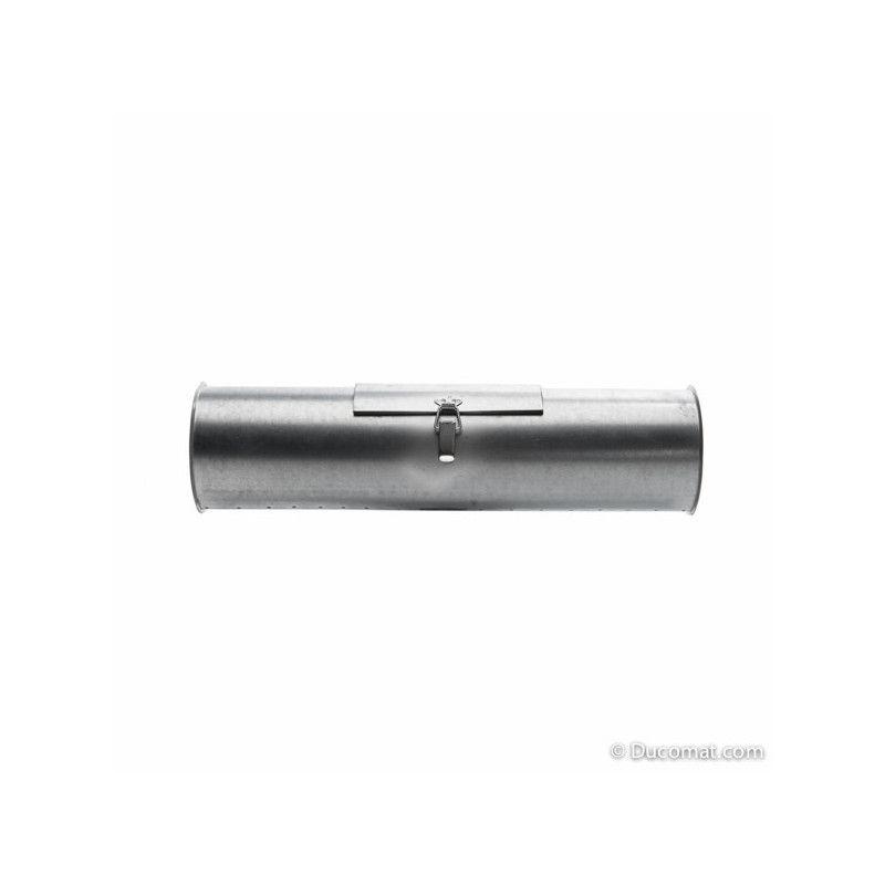 Pipe with access door, 0,5 m, Ø 080 mm