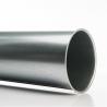 Rohre längsgefaltz mit Bord für Spannschelle, Ø 080 mm, 2,0 m. für späneabsaugung
