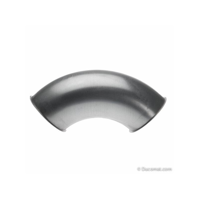 galva. pressed bend 90° R-1,5D - Ø 100 mm
