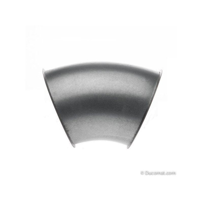 Galva. pressed bend 45° R-1,5D - Ø 120 mm