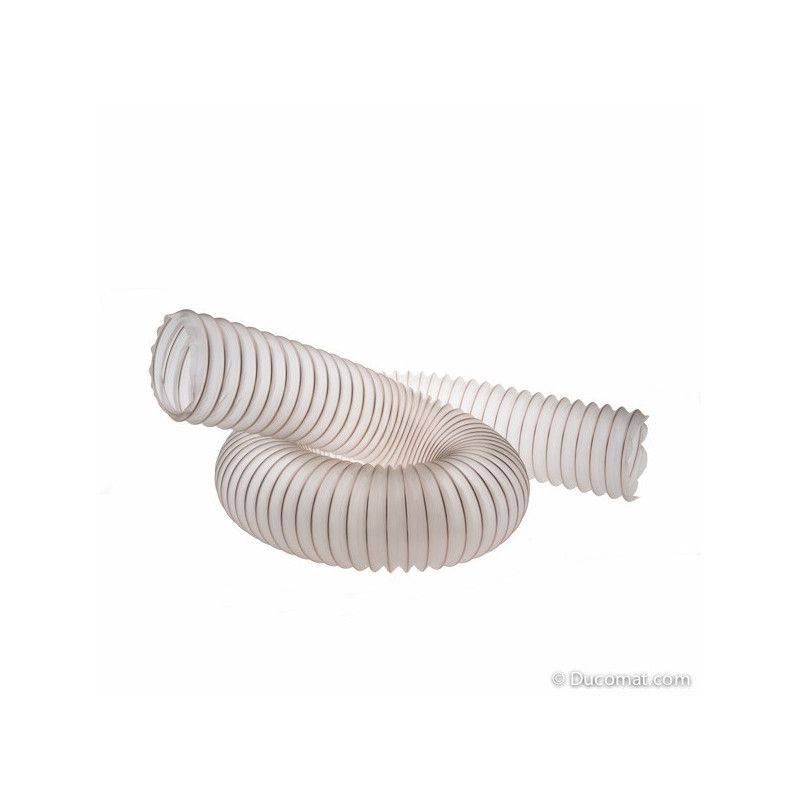 Flexible hose PU - Ø 120 mm - thickn. 0,4 mm for 10 meters