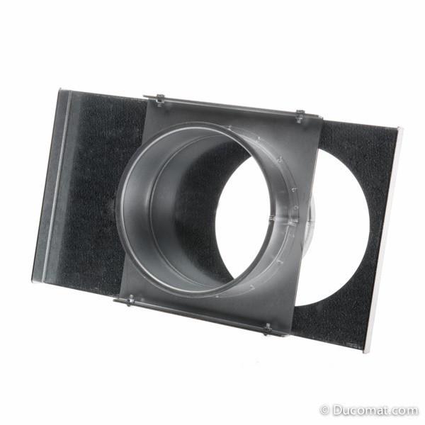 Standard manual galvanized sliding dampe