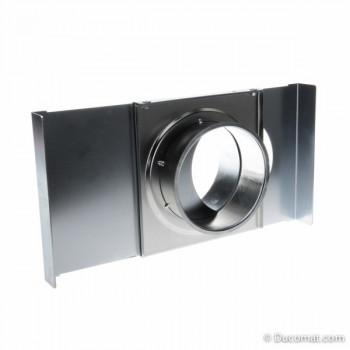 Manual slide dampers for pneumatic